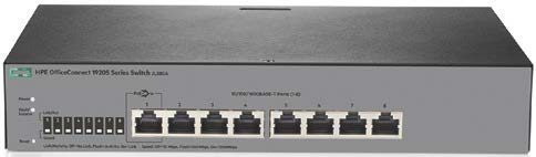 HPE OfficeConnect 1920S 8G PPoE+65W Switch #JL383A