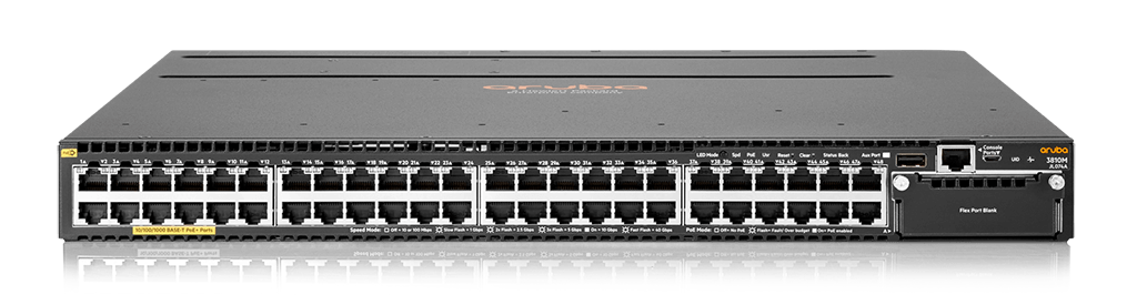 Aruba 3810M 48G PoE+ 1-slot Switch (JL074A)
