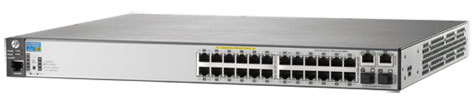 HP 2620-24-PoE+ Switch (J9625A)