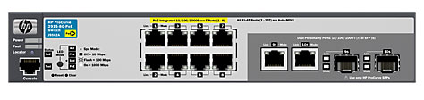 HP 2915-8G-PoE Switch (J9562A)
