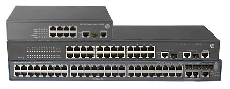 HP 3100 EI Switch Series
