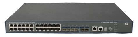 HP 5500-24G-4SFP HI Switch with 2 Interface Slots (JG311A)