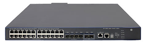 HP 5500-24G-PoE+-4SFP HI Switch with 2 Interface Slots (JG541A)