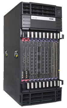 HP 12508 AC or DC Switch Chassis