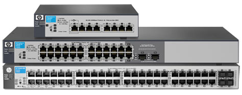HP V1810 Switch Series