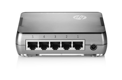 1405-5G V2 Switch (J9792A) (rear view)