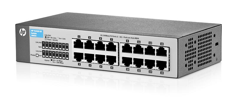 Inteligentny HP 1410 Switch Series | CurveSales.com DW45